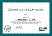 Сертификат члена DMR Ассоциации первой категории (производитель оборудования)